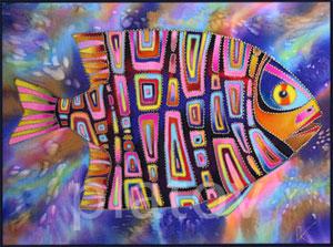 панно рыба фото